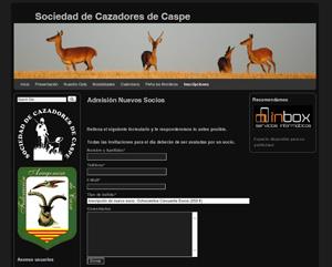 Sociedad de  Cazadores de Caspe